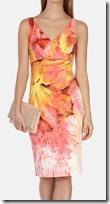 Karen Millen Floral Print Dress
