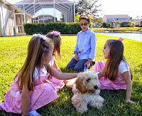 Gorgeousdoodles family love puppy dog in FL.