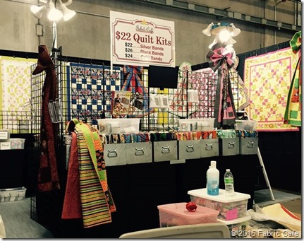 Fabric Cafe Booth-OK City Quilt Show 2015