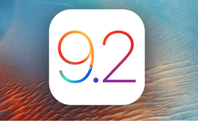 Apple release ios 9.2 public