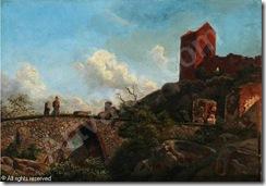 kieldrup-anton-edvard-1827-186-sommerdag-ved-hammershus-pa-bo-3679454