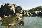 Great Falls Park in Maryland.