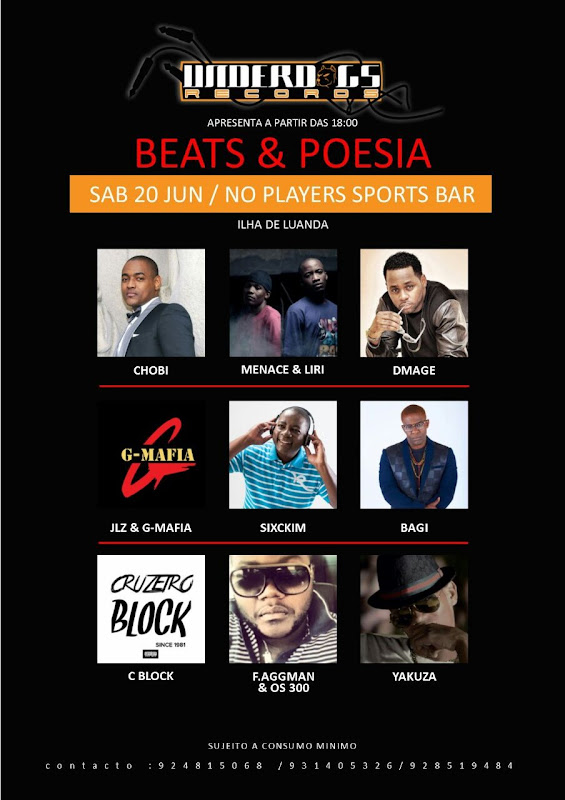 Show Beats E Poesia dia 20 de Junho