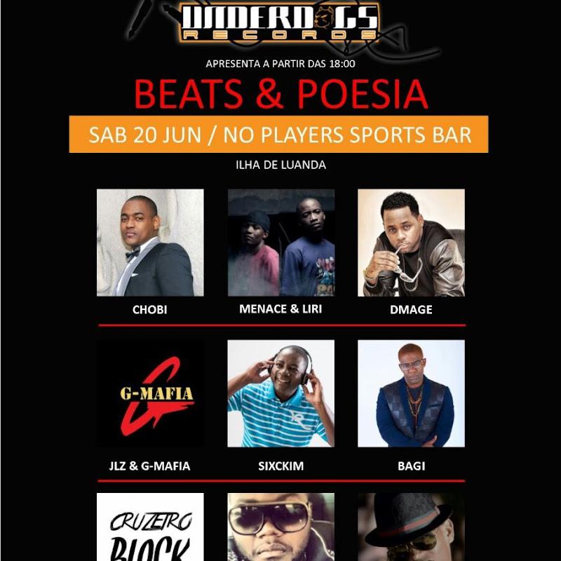 Show: Beats & Poesia 5ª Edição (Sábado) [Dia 20 de Junho]