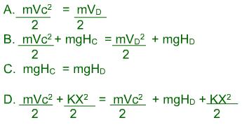 Ecuaciones Fisicas Energia Cientica Potencial Gravitoria Elastica Montaña Rusa Examen Icfes Fisica Blog de la Nacho