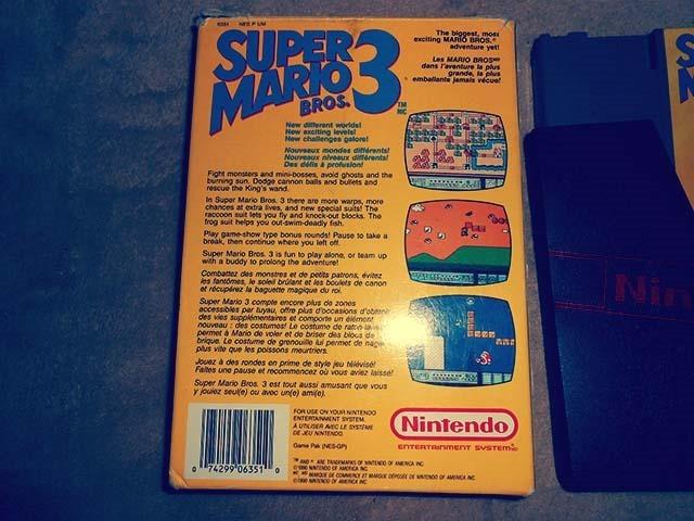 Super Mario Bros. 3 Back Side
