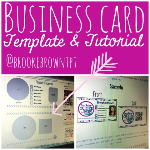 Customize Your Own Business Cards In Powerpoint Free Template