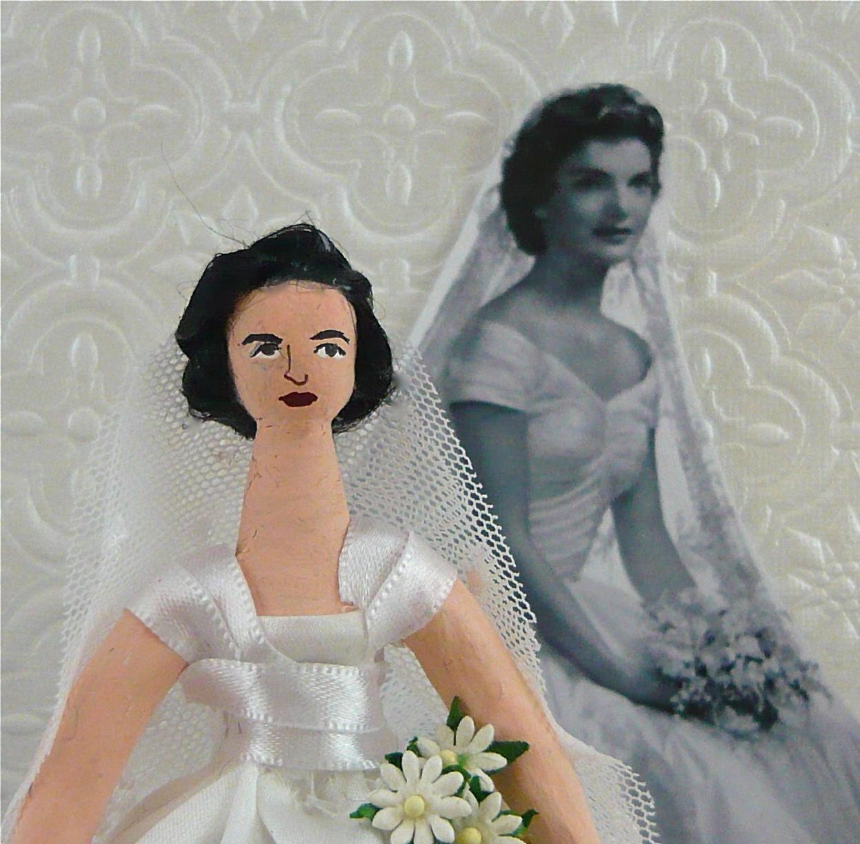 Jackie Kennedy Doll Art