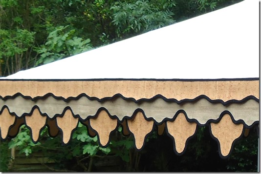 Hollis Valance | Custom Design by Boutique Tents