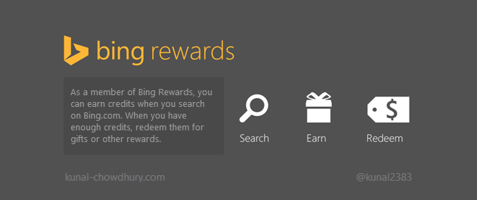 Bing Rewards now available in India, having FreeCharge coupons in rewards list (www.kunal-chowdhury.com)