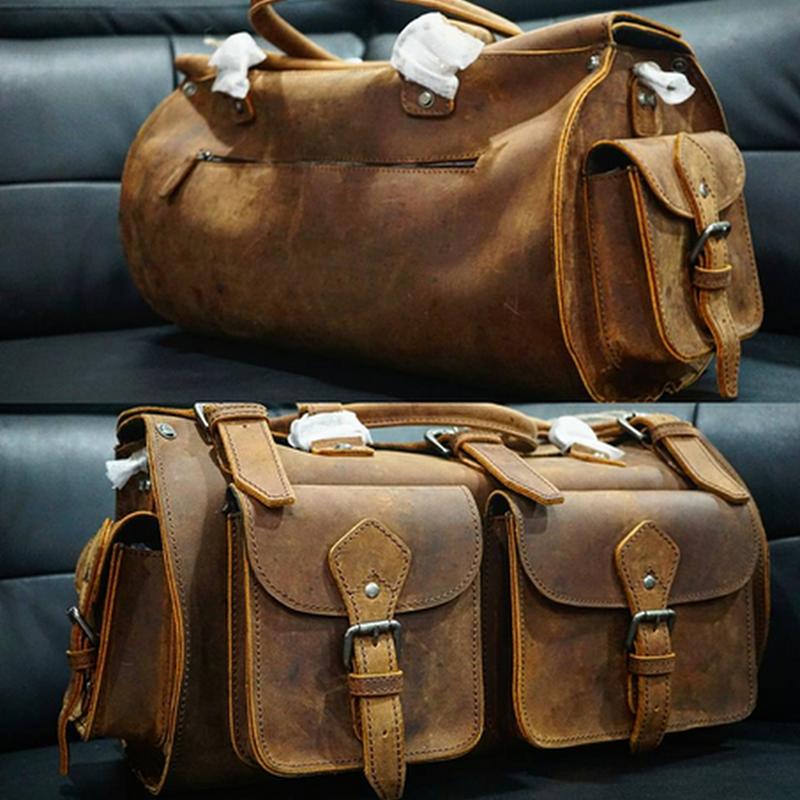 Beg kulit Rugged LederMann untuk pulang berhari raya !