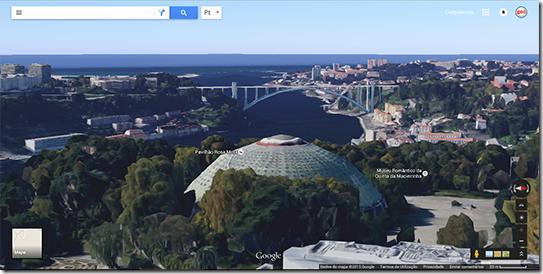 Porto Google Maps 3D