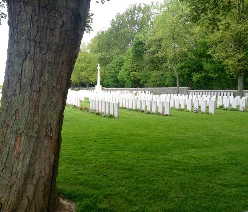 Canadian WWI cemetary near Vimy Ridge