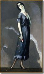 La Persuasión, retrato de la actriz María Ricotti- 1921