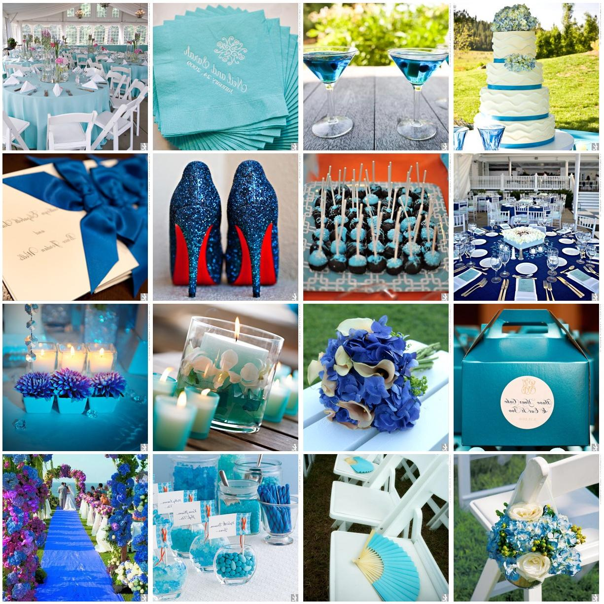 Blue Wedding Board