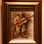 'La magia de la guitarra' de Rafael Boluda. Acuarela