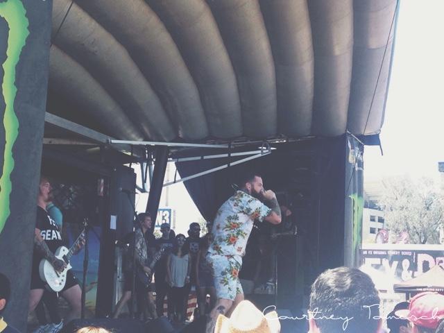 Vans Warped Tour 2015 Senses Fail