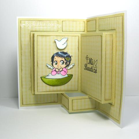 Neri - Zuri Artsy Crafts - Ruthie Lopez - Invitacion de Bautizo. 3