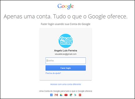 Veja se você ganhou os 2GB na sua conta do Google - Visual Dicas