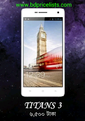 KingStar TITANS 3 mobile price and full specifications in Bangladesh