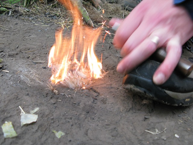 Fenland Bushcraft survival skills workshop Norfolk
