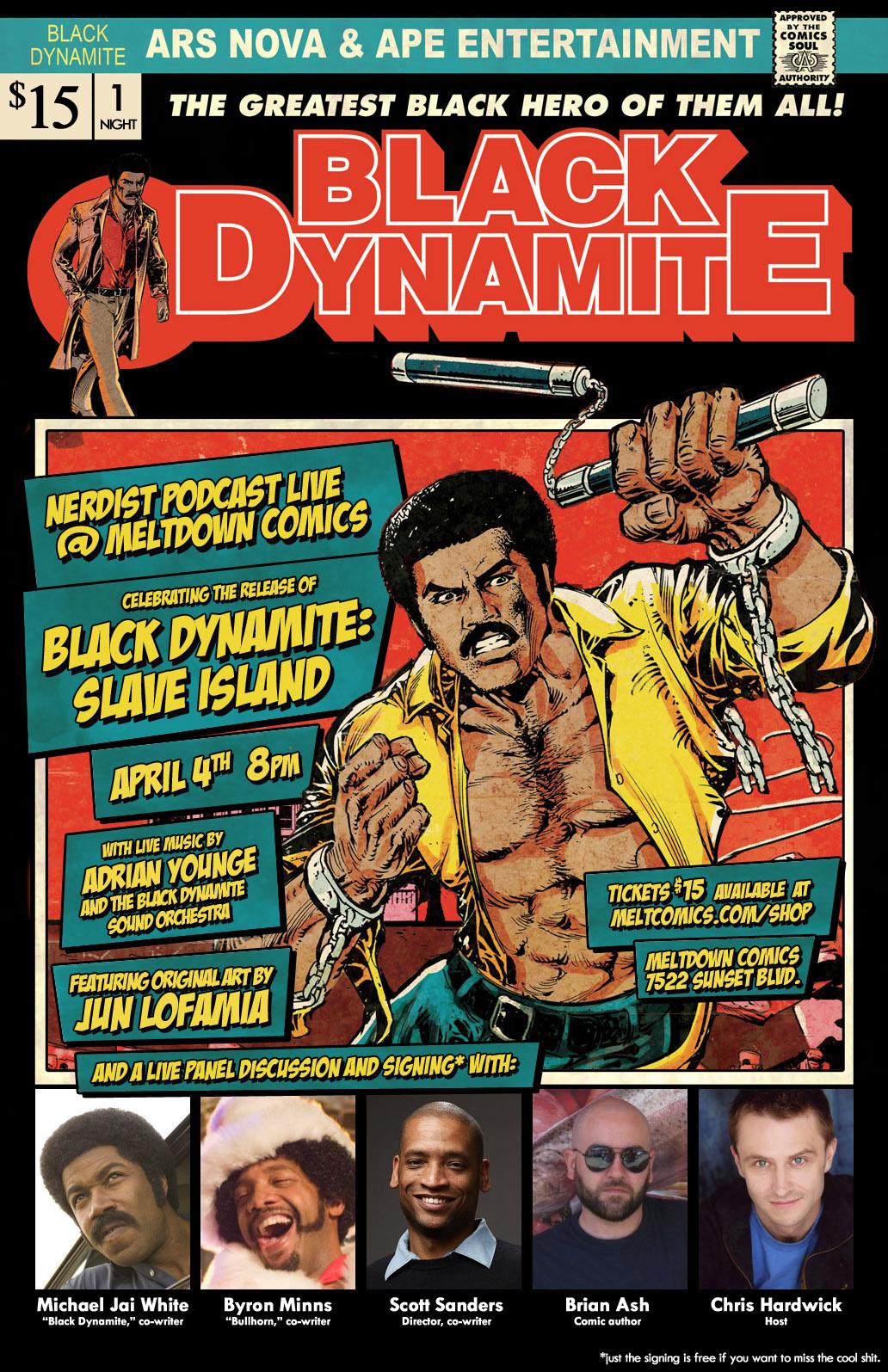 of BLACK DYNAMITE: SLAVE