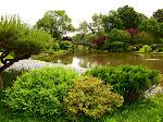 Japanese Garden, St. Louis Botanical Garden in St. Louis, Missouri.