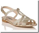 LK Bennett Rope Lurex Sandal