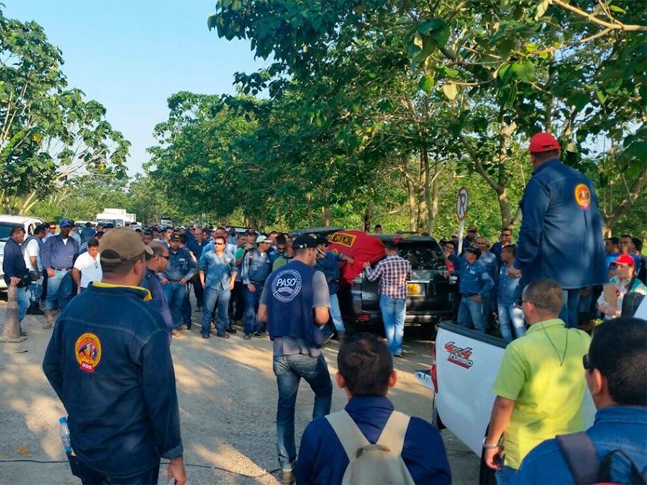 Trabajadores tercerizados mas explotados en Ecopetrol S.A. se movilizan
