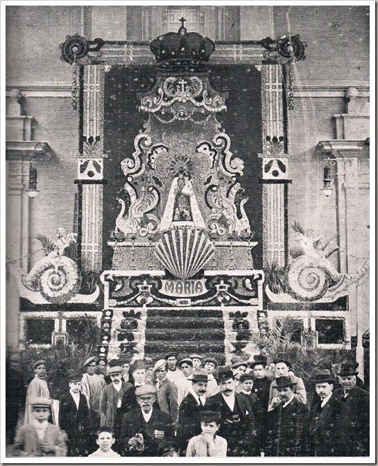 1911 la fiesta de la virgen de los desamparados 1911