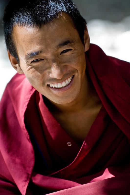 Moine tibétain