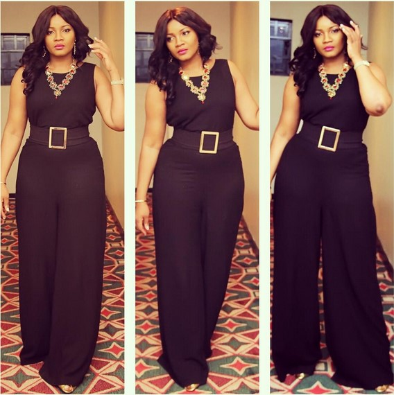 Aderonke 39 S Fashion House Outfit Omotola Wore In 2015 That We Really Want To Borrow