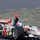 Jenson Button Honda RA106 shake down