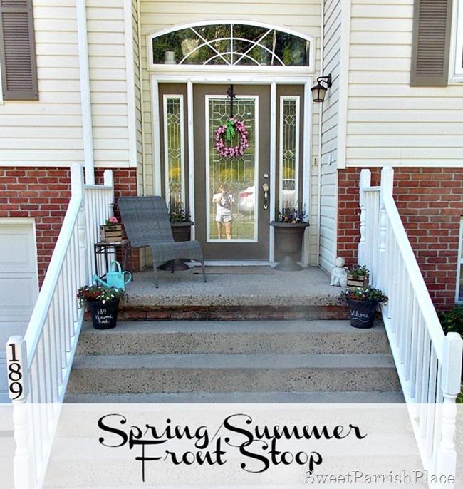 spring summer front stoop1