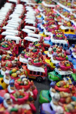 Chichi market souvenirs