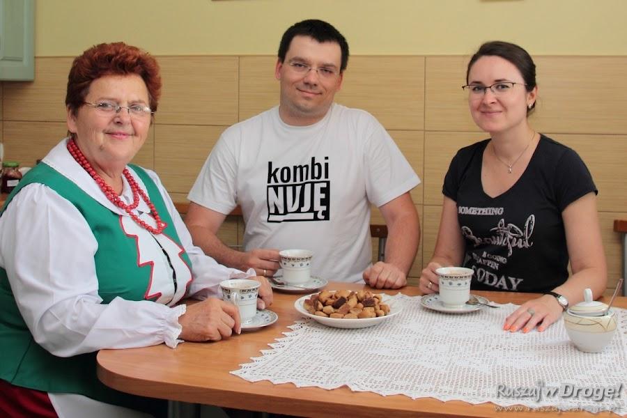 Na kawie z fefernuskami u Krystyny Gierszewskiej
