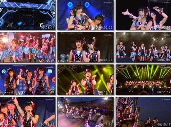 [TV-Variety] NMB48 – INAZUMA ROCK FES 2014 141130