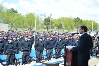 227 son los efectivos  que egresaron de la Escuela de Policía