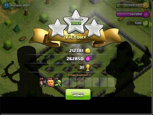 trik memenangkan permainan game clash of clans