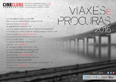 cartaz ciclo «Viaxes e Procuras II»
