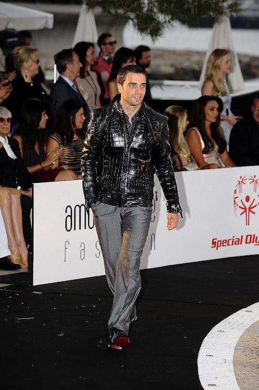 Жером Д'Амброзио на Amber Fashion Show на Гран-при Монако 2012