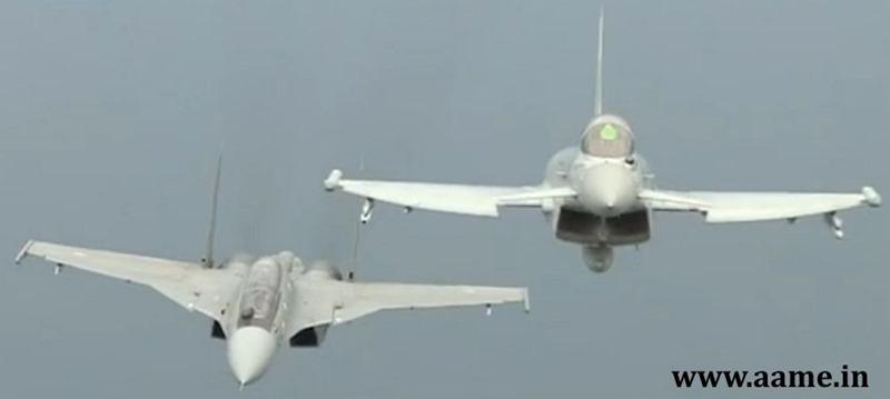 Eurofighter-Sukhoi-Exercise-Indradhanush