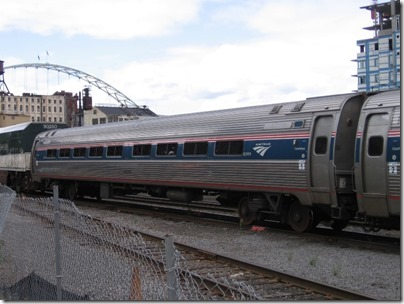 IMG_8495 Amtrak Amfleet I Coach #82999 at Union Station in Portland, Oregon on August 19, 2007