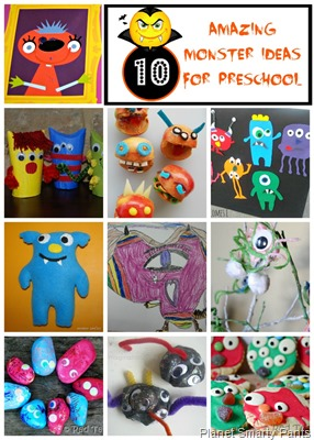 Preschool-Monster-Theme