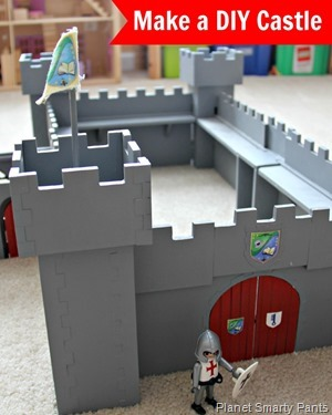 How to Build a DIY Castle out of MDF