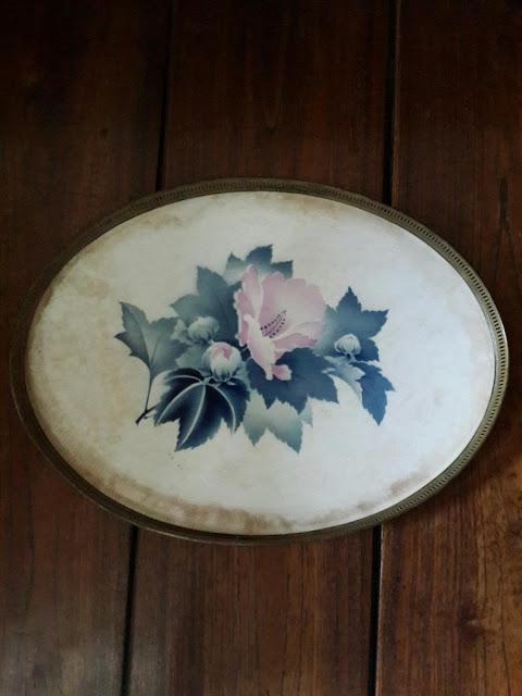 nampan porselen antik