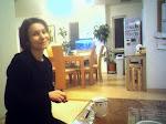 W małym hotelu wKioto.