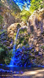 at Tioga Falls