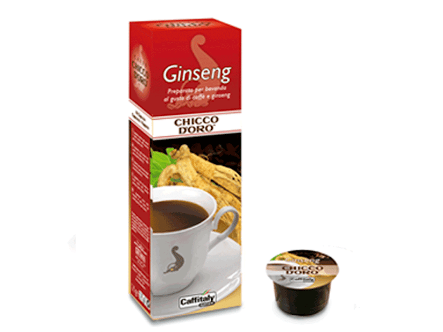 Capsule Chicco d'Oro Caffitaly Ginseng