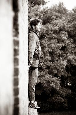 Ромэн Грожан на краю в специальном тренировочном лагере Sport Management System - ноябрь 2013